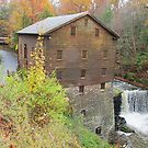 Autumn at Lanterman's Mill by Monnie Ryan