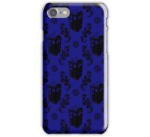 Tardis Flock Pattern iPhone Case/Skin