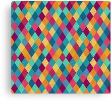 Colored Diamonds Canvas Print