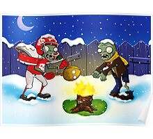 PLANTS VS ZOMBIES CHRISTMAS 2 Poster