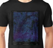 USGS TOPO Map Arkansas AR Round Hill 259530 1965 24000 Inverted Unisex T-Shirt