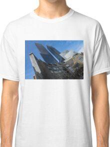 Hugging Columbus Circle - the Elegant Curvature of Time Warner Center Buildings Classic T-Shirt