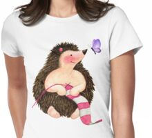 Knit One, Purl One Womens Fitted T-Shirt