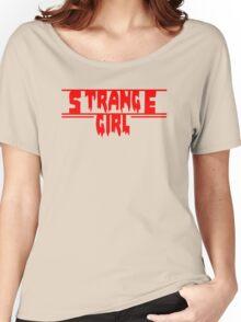 strange girl Women's Relaxed Fit T-Shirt