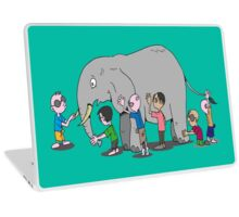 Blind Men and an Elephant Famous Story Tale Design  Laptop Skin