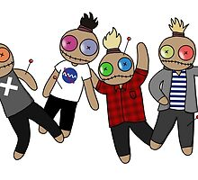 Voodoo Doll - 5SOS by applepiearts