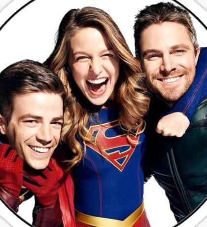 Arrow, Flash and Supergirl! Sticker