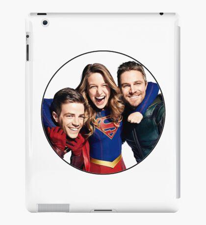 Arrow, Flash and Supergirl! iPad Case/Skin