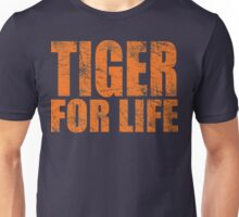 Tiger for Life -Navy and Orange Unisex T-Shirt