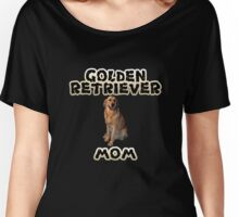 Golden Retriever Mom Mother Women's Relaxed Fit T-Shirt