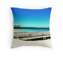 Busselton Jetty Western Australia Throw Pillow