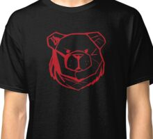 Robust Bear Logo Red Classic T-Shirt