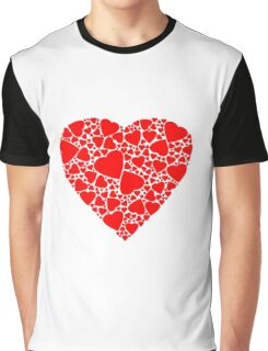 Red heart | Love Graphic T-Shirt