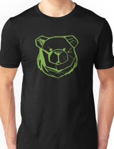 Robust Bear Logo Green Unisex T-Shirt