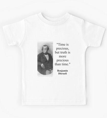 Time Is Precious - Disraeli Kids Tee