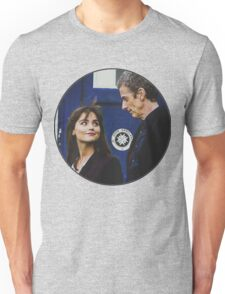 The Doctor and Clara. Unisex T-Shirt