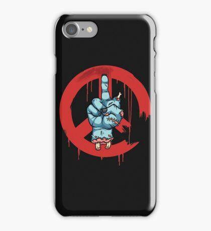 Peace - Zombie iPhone Case/Skin