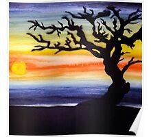 The elder tree Poster