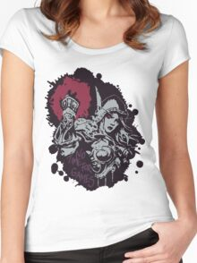 Sylvanas has no time for games Women's Fitted Scoop T-Shirt