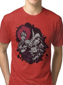 Sylvanas has no time for games Tri-blend T-Shirt