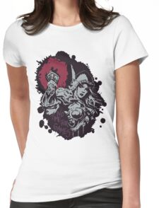 Sylvanas has no time for games Womens Fitted T-Shirt