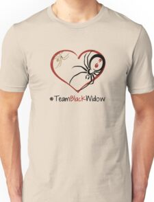 Team Black Widow - Lactrodectus in love  Unisex T-Shirt