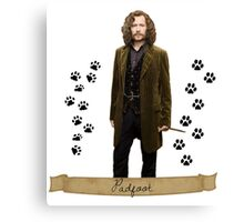 Sirius black - padfoot  Canvas Print