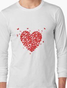 Wedding heart Long Sleeve T-Shirt
