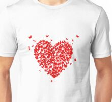 Wedding heart Unisex T-Shirt