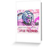 Arcee Reloaded Greeting Card
