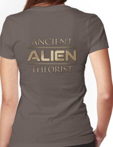 Ancient Alien Theorist Womens Fitted T-Shirt