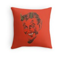 Krampus 1 Throw Pillow