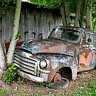 """""""Old Clunker""""... prints and products by © Bob Hall"""