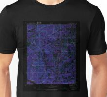 USGS TOPO Map Arkansas AR Mt Pleasant 259185 1942 24000 Inverted Unisex T-Shirt