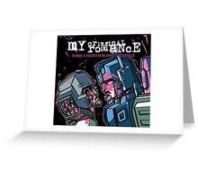 My Criminal Romance Greeting Card