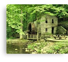 """""""Rice Grist Mill""""... prints and products Canvas Print"""