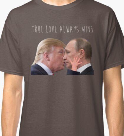 Trump x Putin - Love Always Wins Classic T-Shirt