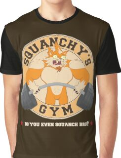 Squanchy's Gym Graphic T-Shirt