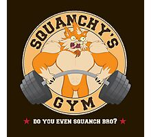 Squanchy's Gym Photographic Print