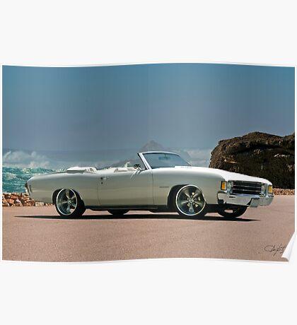 1972 Chevelle Malibu Poster