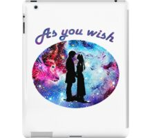 Princess Bride - As You Wish iPad Case/Skin