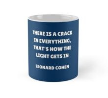 There is a crack  Mug