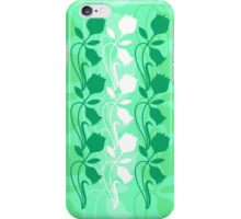 Layered Floral Silhouette Print (7 of 8 please see description) iPhone Case/Skin
