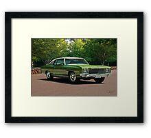 1970 Chevrolet Monte Carlo Framed Print