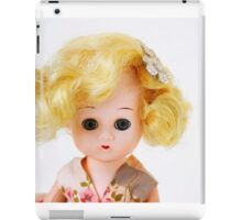1950s Blond Doll Face iPad Case/Skin