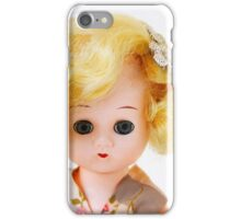 1950s Blond Doll Face iPhone Case/Skin