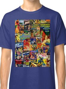 Sci FI Coimic Collage Classic T-Shirt