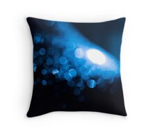 Night Macro Throw Pillow