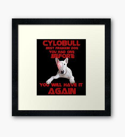 CyloBULL Framed Print