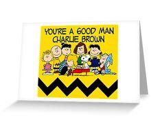 SNOOPY CHARLIE BROWN PEANUTS MATA 10 Greeting Card